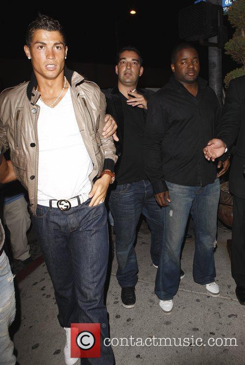Cristiano Ronaldo at Villa night club