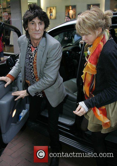Ronnie Wood and Ekaterina Ivanova 7