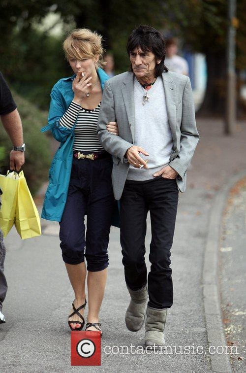 Ronnie Wood and Ekaterina Ivanova 22