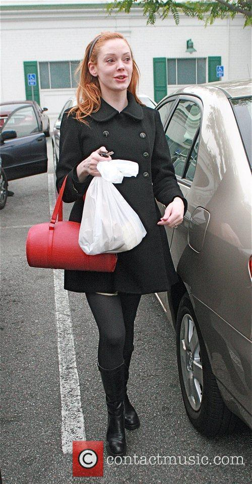 Rose McGowan  was spotted shopping at Bristol...