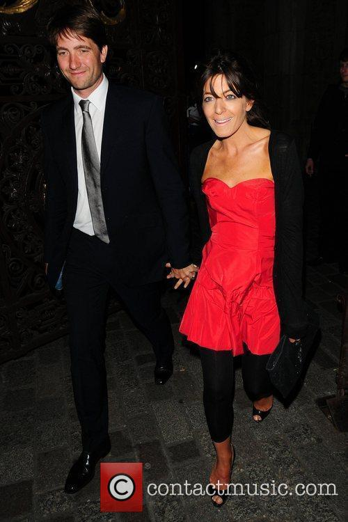 Kris Tykier and Claudia Winkleman attend the Royal...