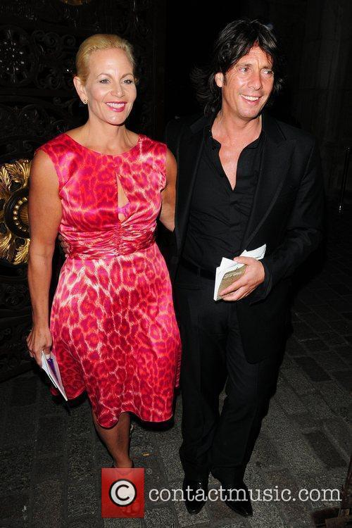 Lawrence Llewellyn Bowen and his wife Jackie attend...