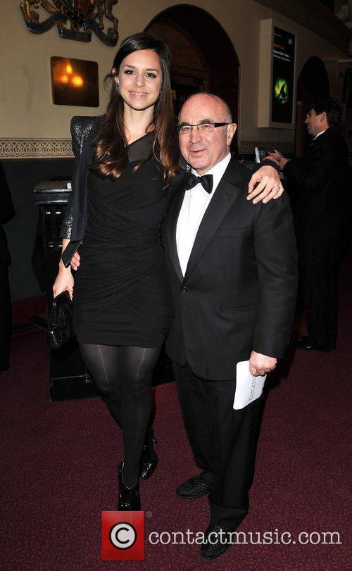 Bob Hoskins with daughter Rosa Celebrity Gala at...