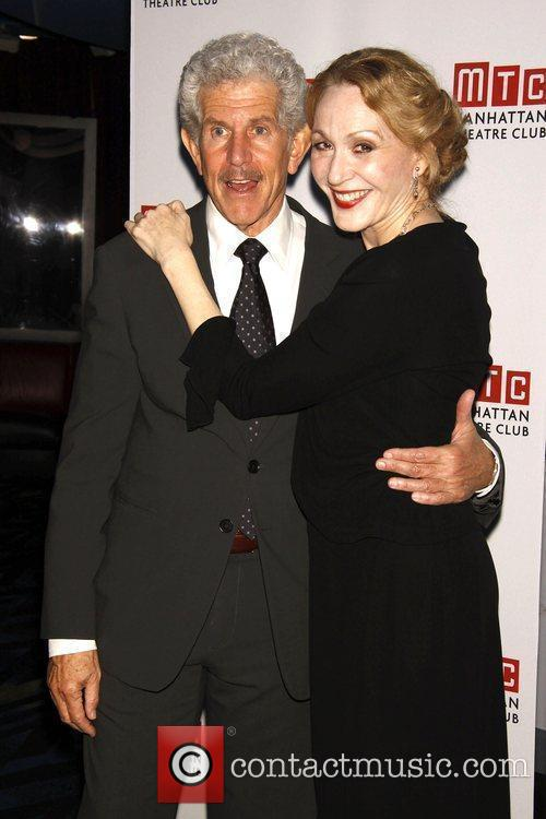 Tony Roberts and Jan Maxwell Opening Night after...