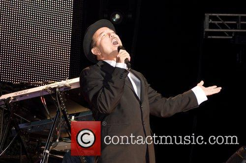 Ruben Blades live in concert at the Coliseo...