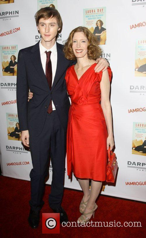 Laura Day and her son The launch of...