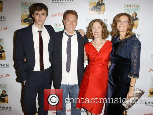 Laura Day and her son, Ryan Kavanaugh and...