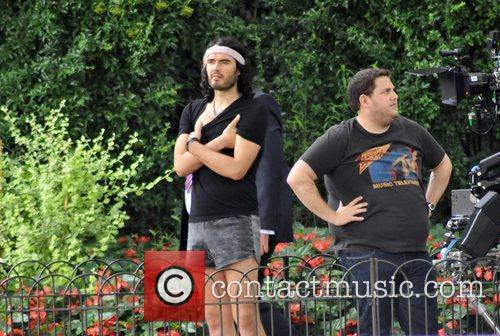 Russell Brand and Jonah Hill 7