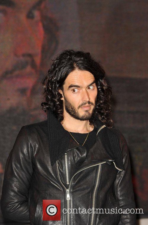 Russell Brand signing session held at HMV Oxford...