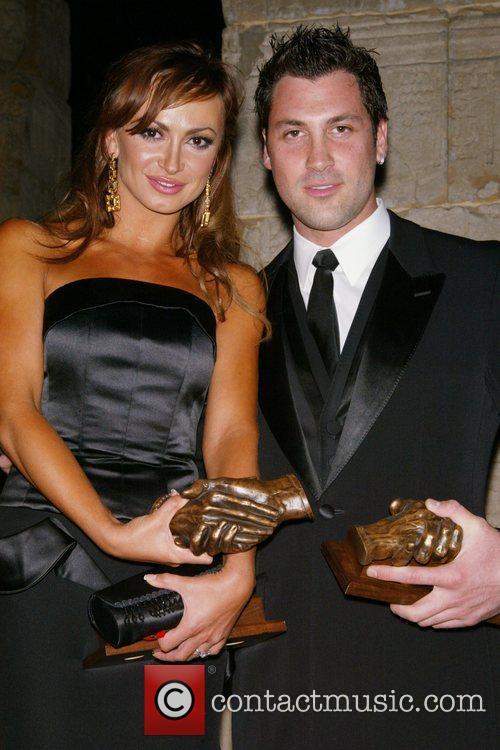 Karina Smirnoff and Maksim Chmerkovskiy 7