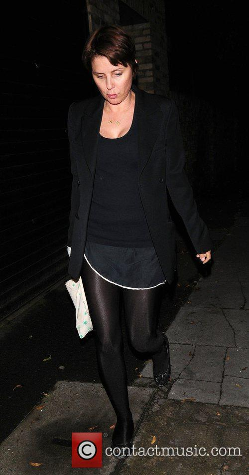 Leaving Kate Moss' house