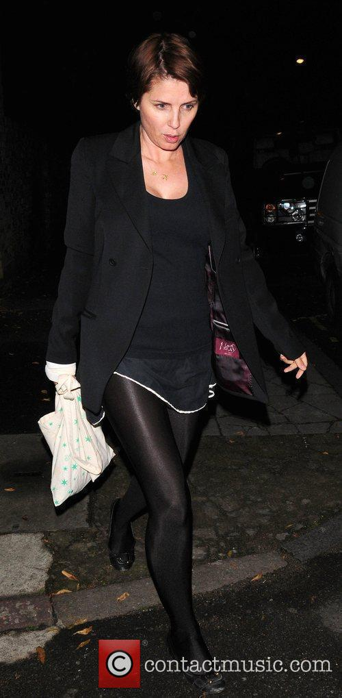 Sadie Frost  leaving Kate Moss' house London,...
