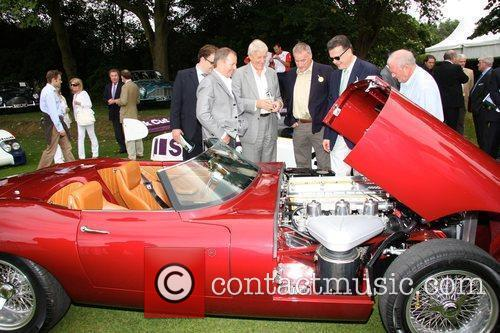 Martin Blundell talks to the owner of the...