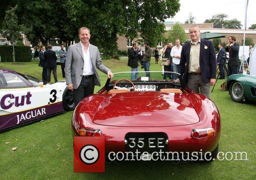 Martin Blundell with the new owner of the...