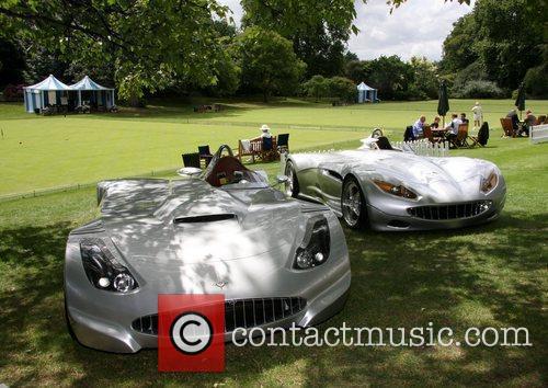 The Veritas supercar Salon Prive Luxury supercar event...