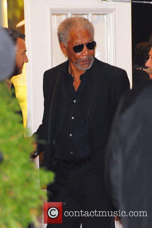 Morgan Freeman The Museum of The Moving Image...