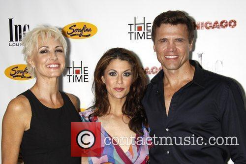 Amra-Faye Wright, Samantha Harris and Brent Barrett After...