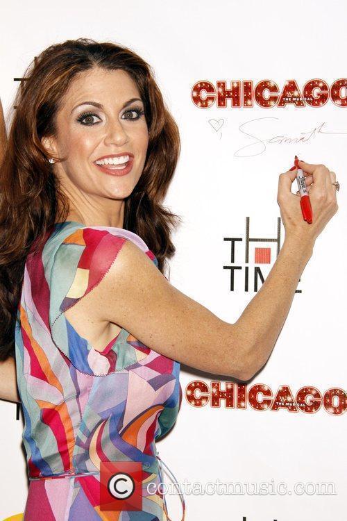 Samantha Harris and Chicago 9