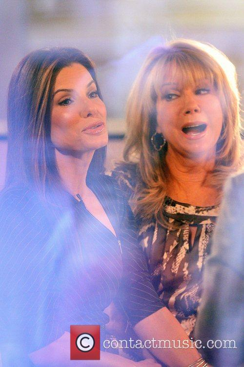 Sandra Bullock with Kathie Lee Gifford on NBC's...