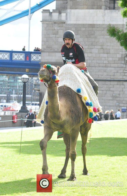 Saracens Rugby Club Hosts A Camel Race In Potters Fields Park 6
