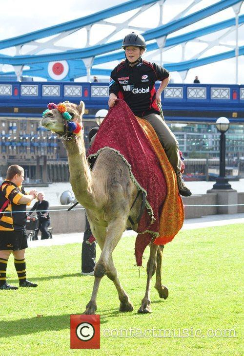 Saracens Rugby Club Hosts A Camel Race In Potters Fields Park 11