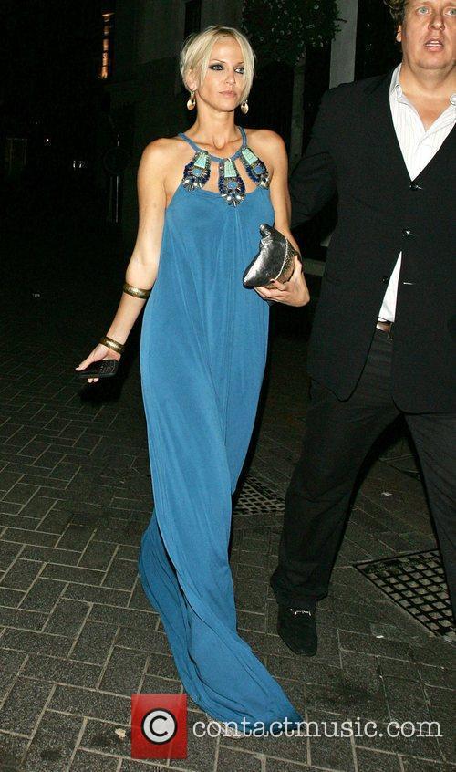 Sarah Harding leaves 24 nightclub London, England