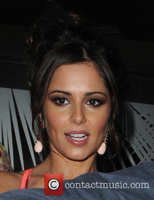 Cheryl Cole celebrates Sarah Harding and Kimberley Walsh's...