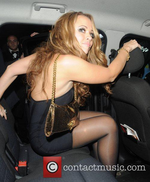Kimberley Walsh celebrates her birthday with a joint...