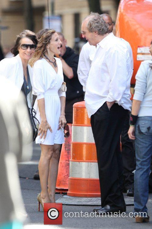 Sarah Jessica Parker and Danny Aiello on the...