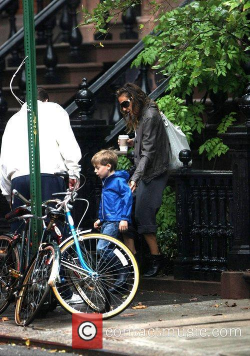 Sarah Jessica Parker takes her son James Wilkie...