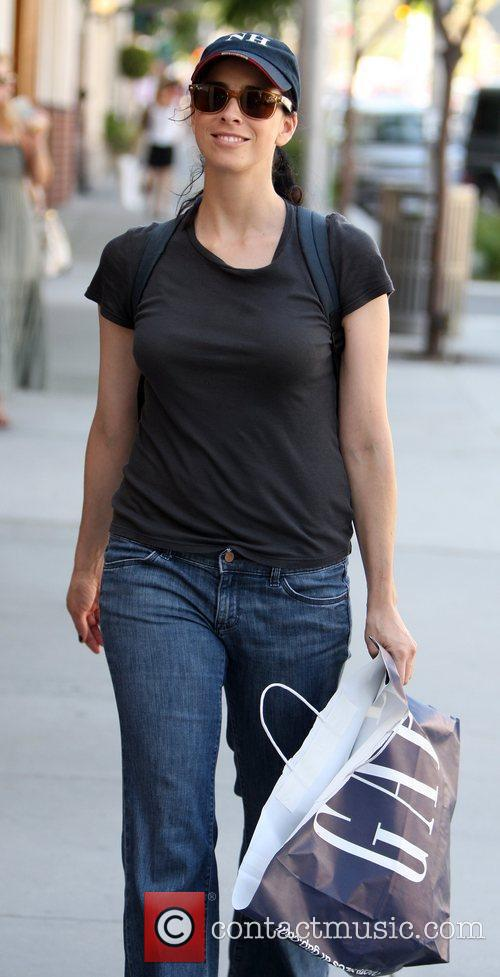 Sarah Silverman does a spot of shopping on...
