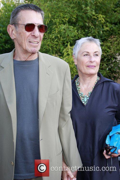 Leonard Nimoy and wife Susan Bay The 2009...