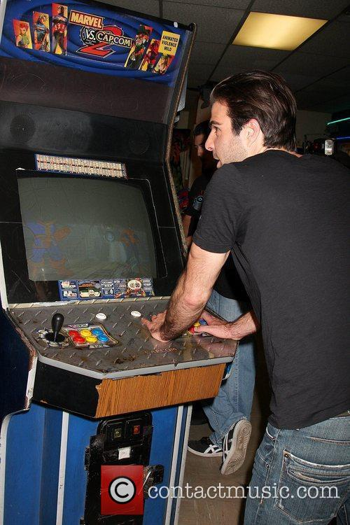 Zachary Quinto and Stride launch 'Save the Arcades'...