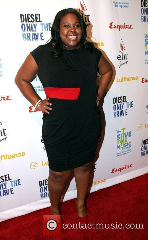 Amber Riley and Vh1 2