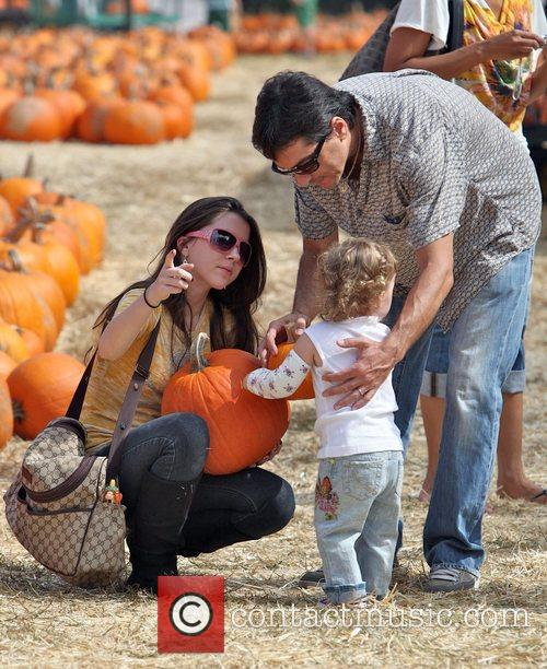 Scott Baio with his daughter Bailey DeLuca and...