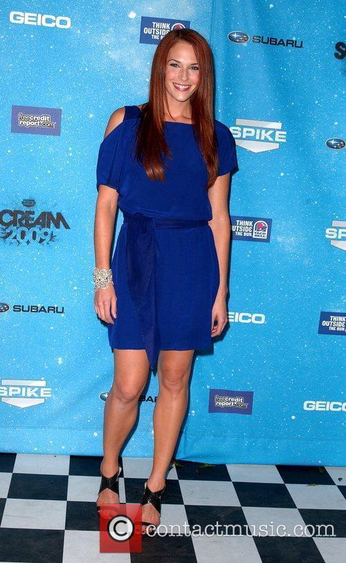 Amanda Righetti Spike TV's 2009 Scream Awards held...