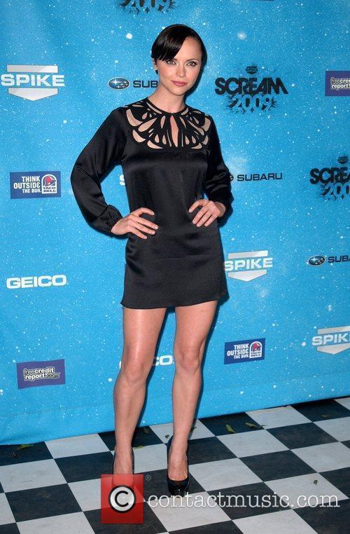Christina Ricci Spike TV's 2009 Scream Awards held...