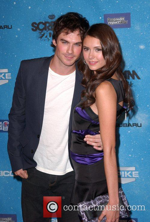 Ian Somerhalder and Nina Dobrev 1