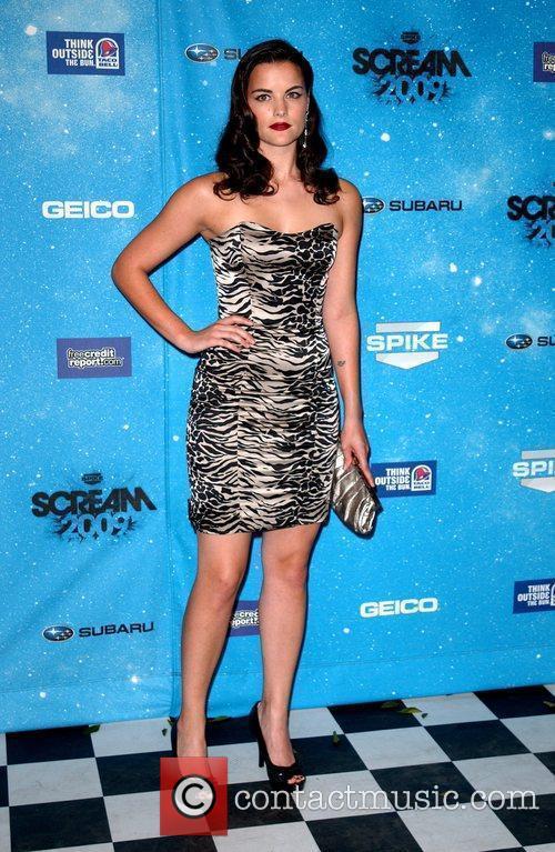 Jaimie Alexander Spike TV's 2009 Scream Awards held...