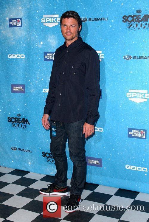 Karl Urban Spike TV's 2009 Scream Awards held...