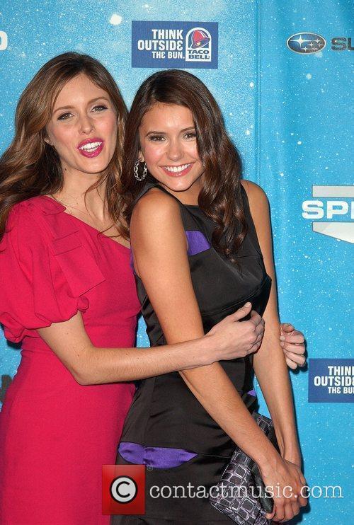 Kayla Ewell and Nina Dobrev Spike TV's 2009...