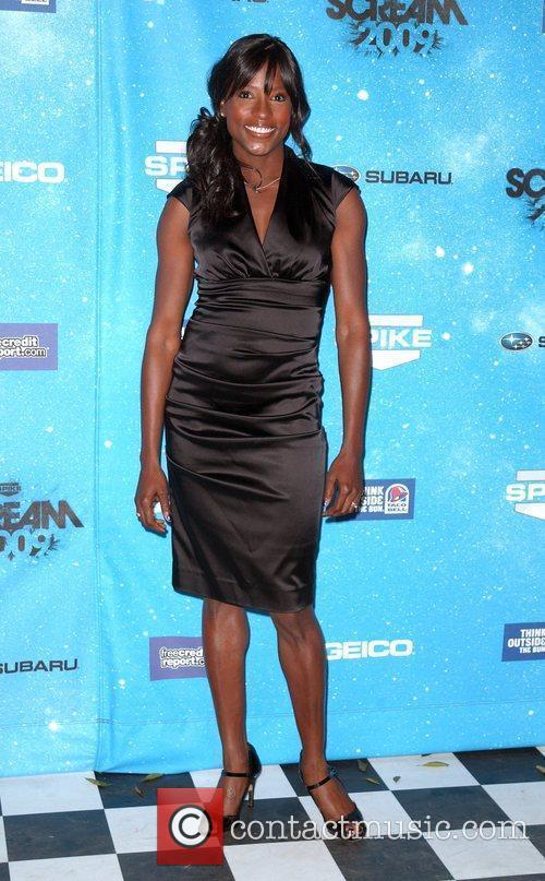 Rutina Wesly Spike TV's 2009 Scream Awards held...