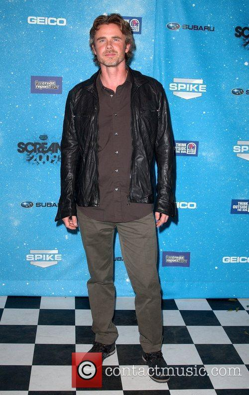 Sam Trammell Spike TV's 2009 Scream Awards held...