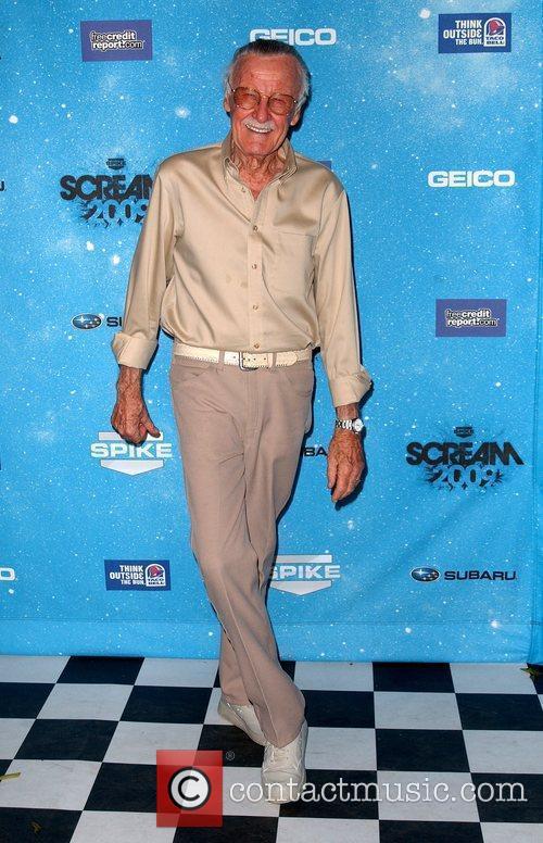 Stan Lee Spike TV's 2009 Scream Awards held...