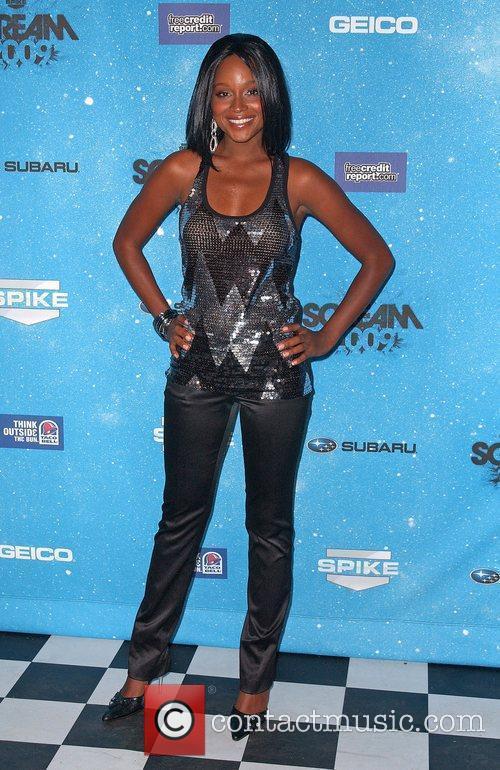 Tanedra Howard Spike TV's 2009 Scream Awards held...
