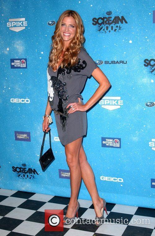 Tricia Helfer Spike TV's 2009 Scream Awards held...