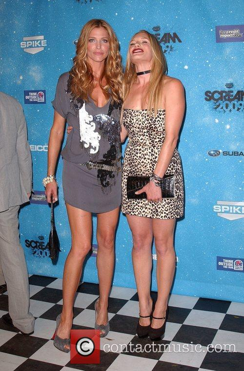 Tricia Helfer and Katee Sackhoff Spike TV's 2009...