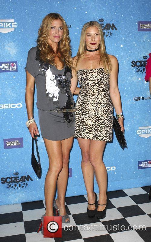 Katee Sackhoff & Tricia Helfer Spike TV's 2009...