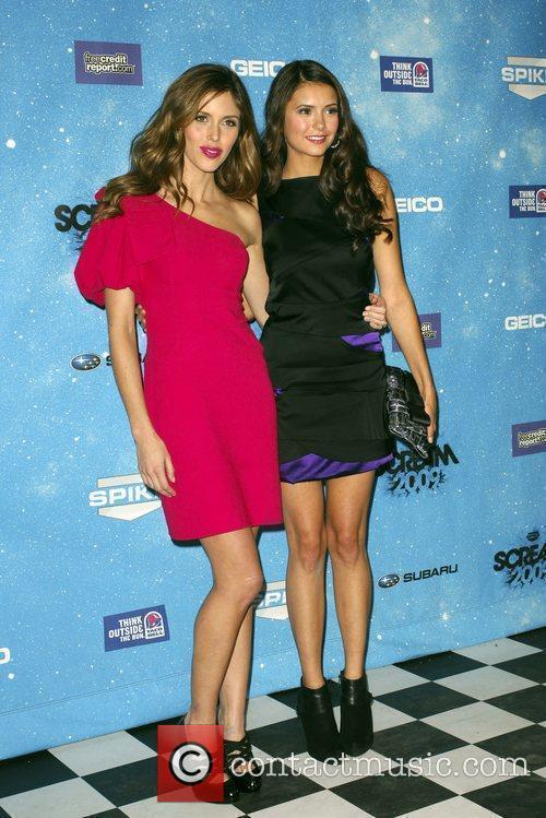 Kayla Ewell & Nina Dobrev Spike TV's 2009...
