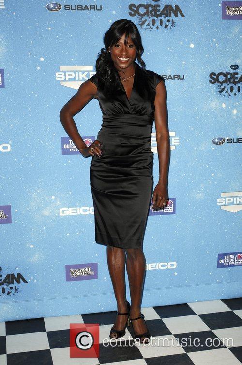 Rutina Wesley Spike TV's 2009 Scream Awards held...